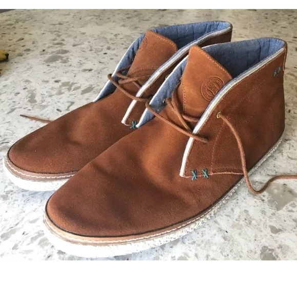 TED BAKERS Saddle SUEDE Abdon 2 Desert Boots 12
